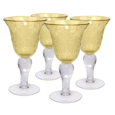 <strong>Artland</strong> Iris Goblet in Citrine (Set of 4)