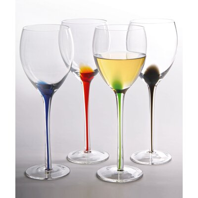 Artland Splash Wine Glass (Set of 4)