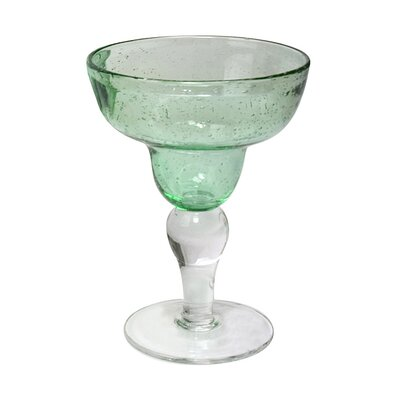 Iris Margarita Glass in Light Green (Set of 4)