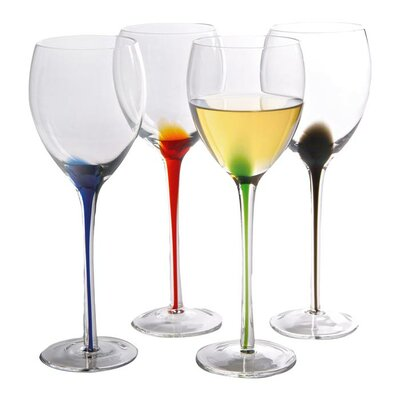 Artland Splash Wine Glass