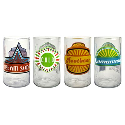<strong>Artland</strong> Upcycle Fun in Sun Juice Glass (Set of 4)