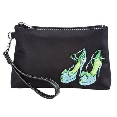 Sydney Love Head Over Heels Embroidered Cosmetic Wristlet