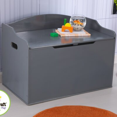KidKraft Austin Toy Box in Gray