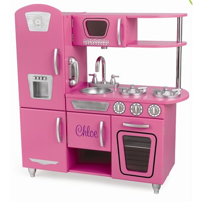 <strong>KidKraft</strong> Personalized Bubblegum Vintage Kitchen