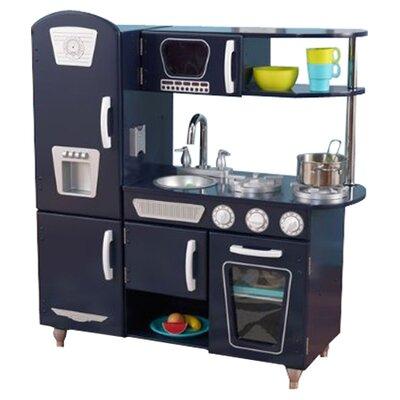kidkraft blue vintage kitchen ii reviews wayfair. Black Bedroom Furniture Sets. Home Design Ideas