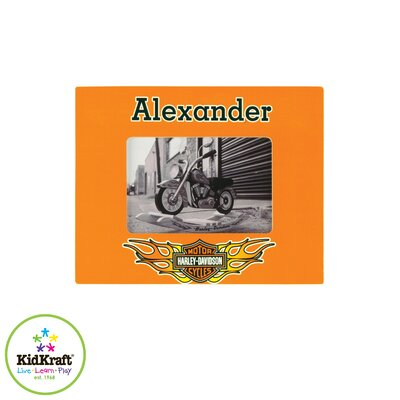 KidKraft Personalized Harley Davidson Picture Framed Art