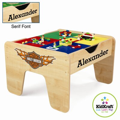KidKraft Personalized Harley Davidson Activity Table