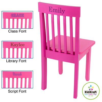 KidKraft Personalized Avalon Kid's Desk Chair | Wayfair