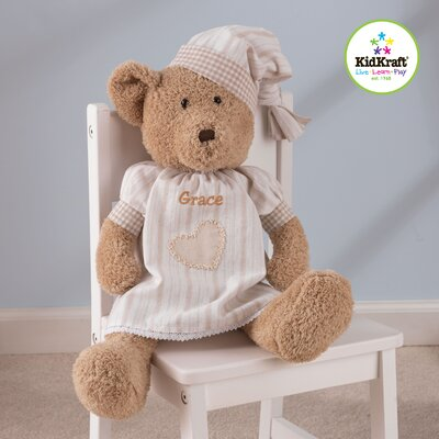 KidKraft Girl Naptime Teddy Bear