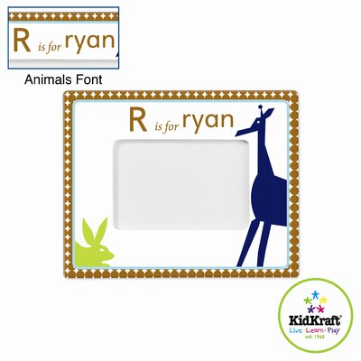KidKraft Personalized Boy Animal Frame