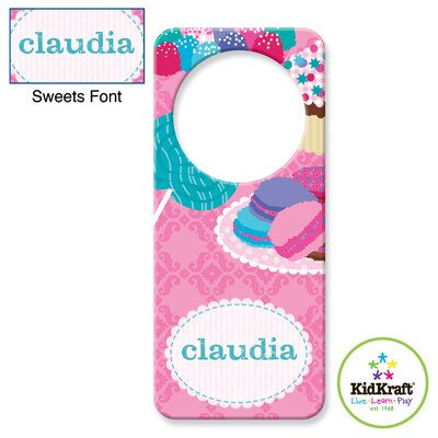 KidKraft Personalized Sweets Door Hanger