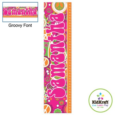 KidKraft Personalized Groovy Growth Chart