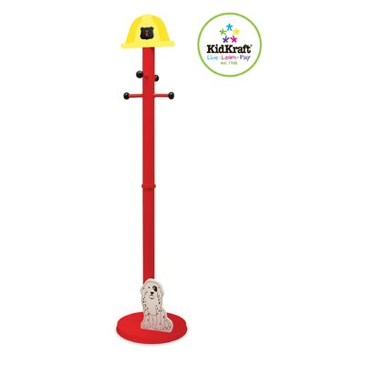 KidKraft Firefighter Coat Rack