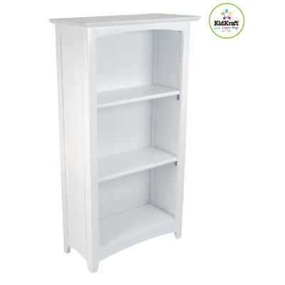 "KidKraft 46"" H Avalon Bookcase in White"