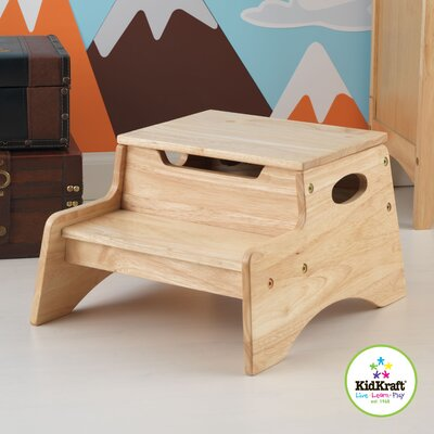 KidKraft Step N' Store Stool in Natural