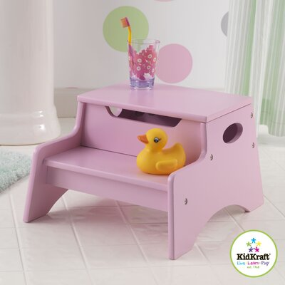 KidKraft Step N' Store Stool in Pink