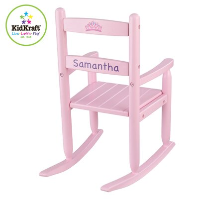 KidKraft Personalized Rocking Kid's Chair