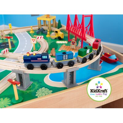 KidKraft Personalized Waterfall Mountain Train Set and Table