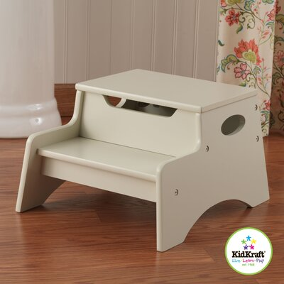 KidKraft Step N' Store Stool in Vanilla
