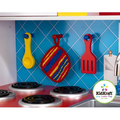 KidKraft Personalized Deluxe Let's Cook Kitchen