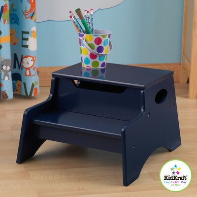 KidKraft Step 'N Store Stool in Blueberry