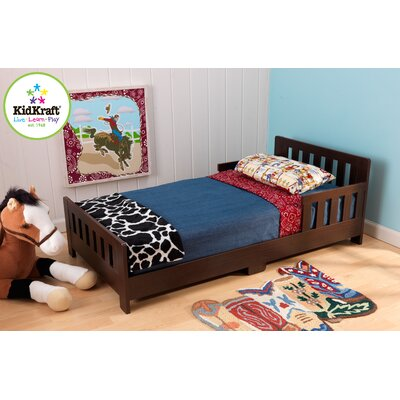 KidKraft Charleston Toddler Bed - Espresso