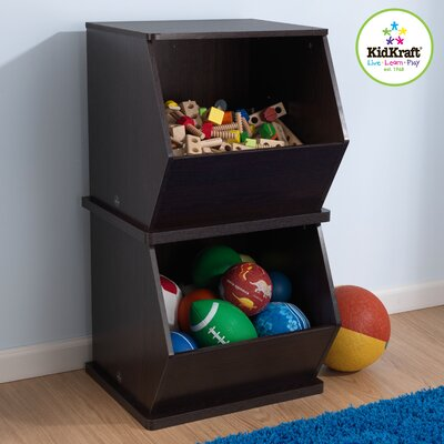 KidKraft Single Storage Unit in Espresso