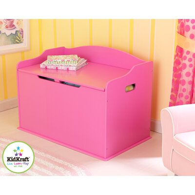 KidKraft Austin Toy Box in Bubblegum