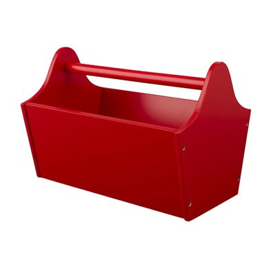 Toy Box Caddy in Red