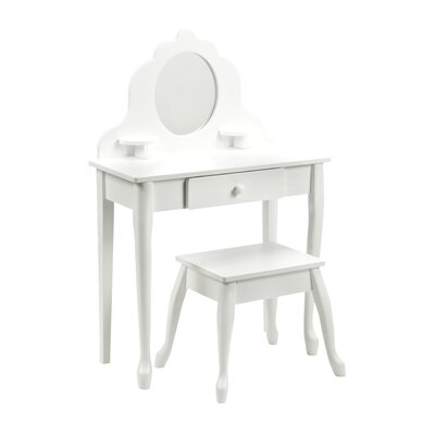 KidKraft Medium Diva Table & Stool