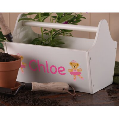 KidKraft Personalized Toy Box Caddy in Vanilla