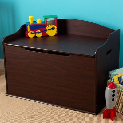 KidKraft Austin Toy Box In Espresso amp Reviews Wayfair
