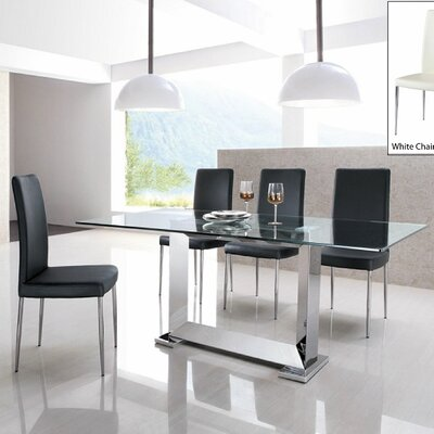 Armen Living Posto 5 Piece Dining Set
