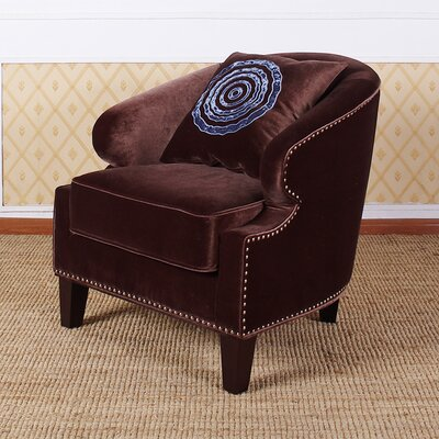Armen Living Contessa Velvet Chair