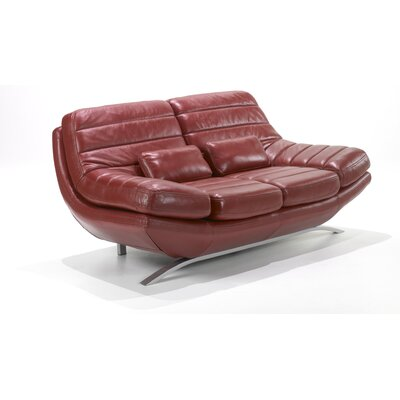 Riviera Leather Loveseat
