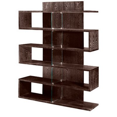 Armen Living Wood Bookcase