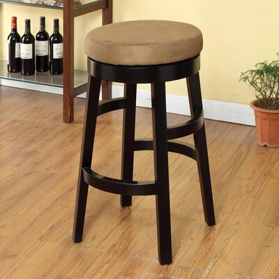 Armen Living Halo Swivel Barstool