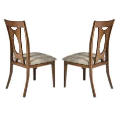 Armen Living Avalon Side Chair (Set of 2)