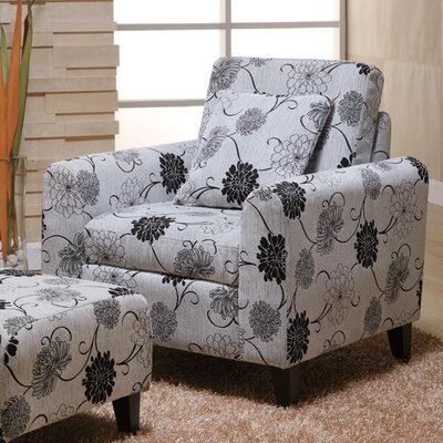 Armen Living Marietta Chair and Ottoman