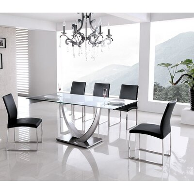Armen Living Primo 5 Piece Dining Set