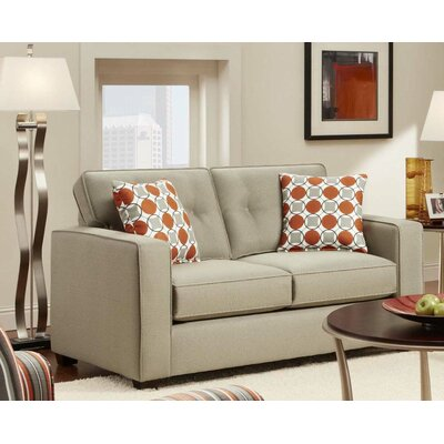 Armen Living Dolly Loveseat