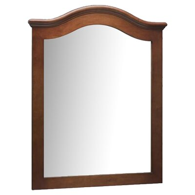 "<strong>Ronbow</strong> 30"" x 38"" Marcello Style Wood Framed Mirror"