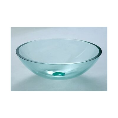 Vessel Bathroom Sink with Tempered Glass - 420102