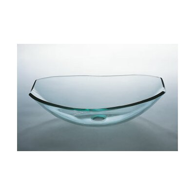 Tael Vessel Bathroom Sink with Tempered Glass - 420523-L7