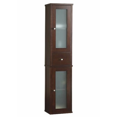 "Ronbow Contempo 12.188"" x 55.375"" Wall Mounted Linen Tower"