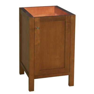 Ronbow Cami - 18inches Wood cabinet w/single wood door & adjustable shelf