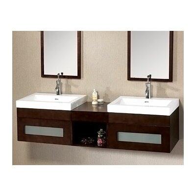 wall mounted wood vanity wayfair