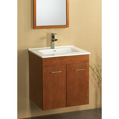 "Ronbow Bella 23"" Wall Mount Bathroom Vanity Base"