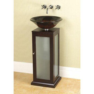 Pedestal Vanity Unit : Contempo 18