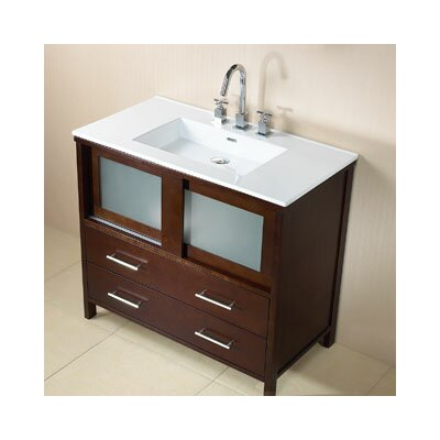 "Ronbow Contempo Minerva 36"" Bathroom Vanity Set"